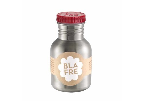 Blafre Blafre - rvs drinkfles (300 ml) - rood