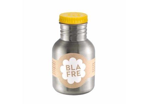 Blafre Blafre - rvs drinkfles (300 ml) - geel