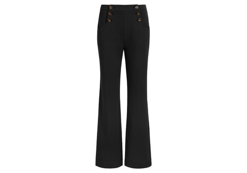 King Louie King Louie - sailor pants broadway - black