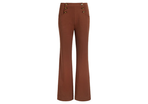 King Louie King Louie - sailor pants broadway - brunette brown