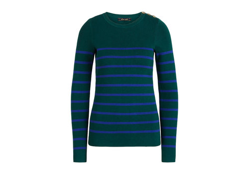 King Louie King Louie - roundneck sweater capanne - pine green