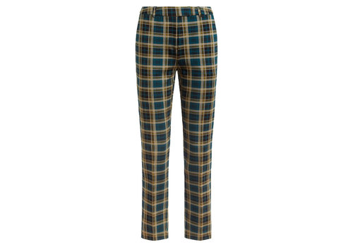 King Louie King Louie - ann pants rodeo check - dragonfly green