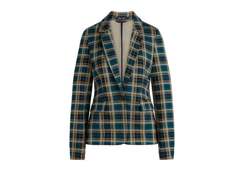King Louie King Louie - daisy blazer rodeo check - dragonfly green