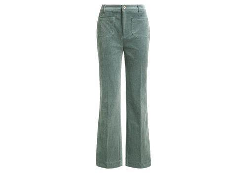 King Louie King Louie - garbo pocket pants corduroy - mint green