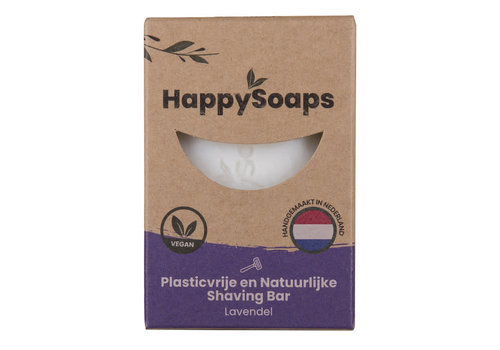 HappySoaps Happysoaps - shaving bar - lavendel