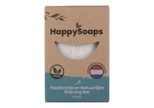 HappySoaps Happysoaps - shaving bar - munt