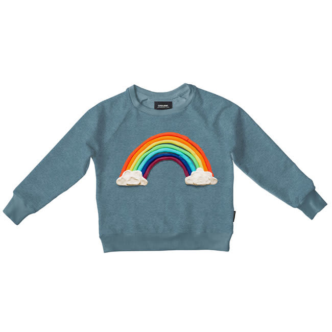Snurk sweater women clay rainbow Hoge Ramen