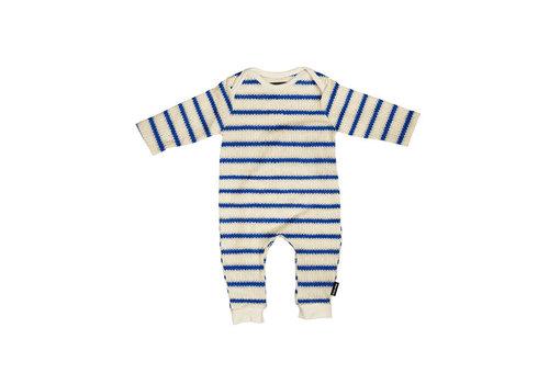 Snurk Snurk - jumpsuit babies - breton blue