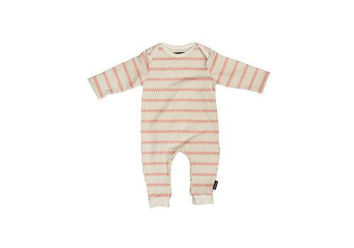 Snurk Snurk - jumpsuit babies - breton pink