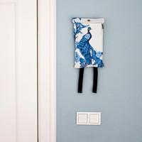 Naaais - blusdeken - peacock