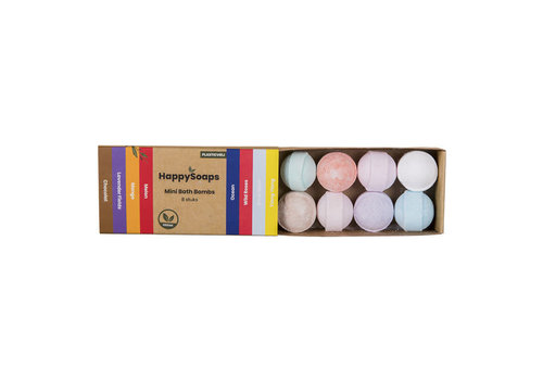 HappySoaps Happysoaps - mini bath bombs - herbal sweets