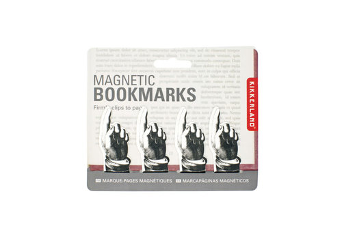 Kikkerland Kikkerland - magnetic pointing bookmark