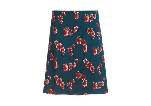 King Louie King Louie - border skirt amori - pond blue