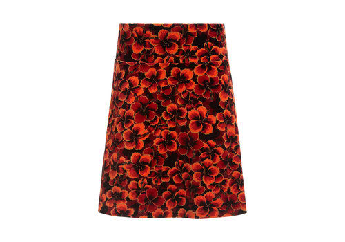 King Louie King Louie - border skirt ceylon - true red