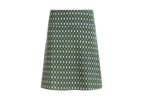 King Louie King Louie - border skirt deuce - pine green