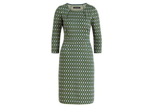 King Louie King Louie - mona dress deuce - pine green