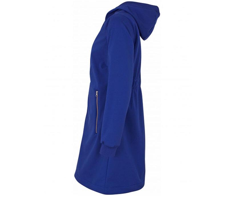 Danefae - jane softshell regenjas - blauw