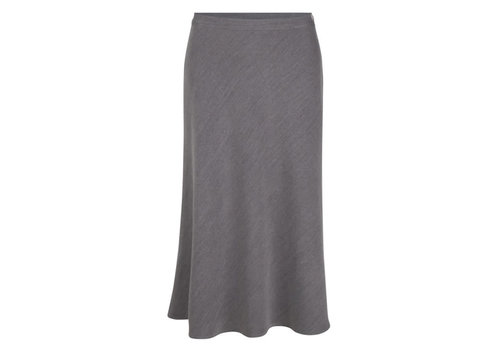Very Cherry Very Cherry - a-line skirt midi - grey melee
