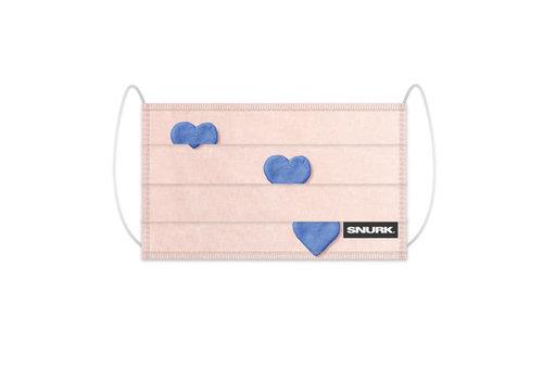 Snurk Snurk - mondkapje - clay heart