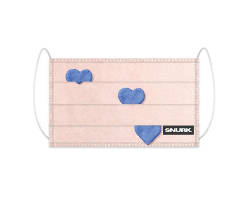 Snurk - mondkapje - clay heart