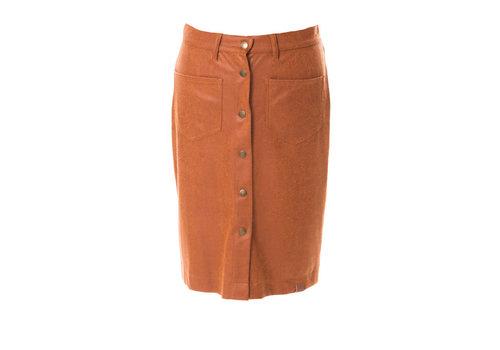 Mooi Vrolijk Mooi Vrolijk - rok beautiful - basic rust brown