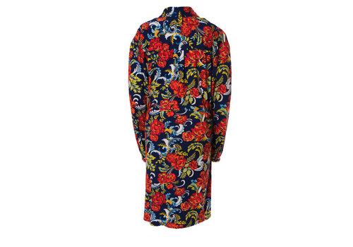 Mooi Vrolijk Mooi vrolijk - blouse flashy long - blue flowery