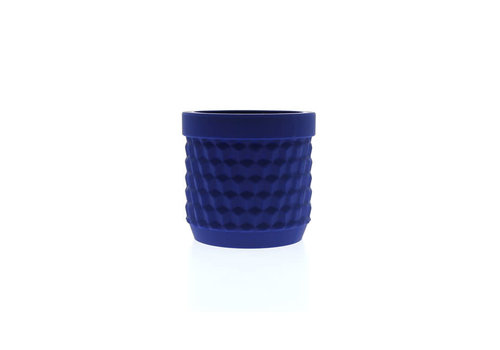 Living by Colors Living by colors - silicone bloempot potts - dark blue