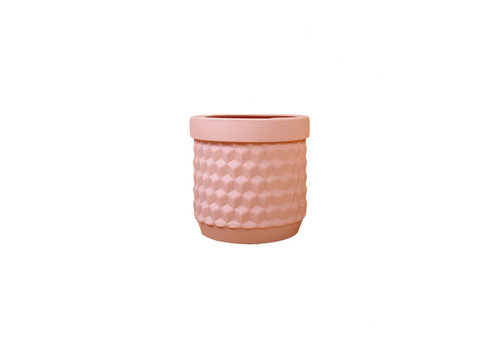 Living by Colors Living by colors - silicone bloempot potts - pale pink