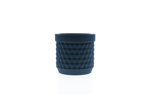 Living by Colors Living by colors - silicone bloempot potts - navy blue