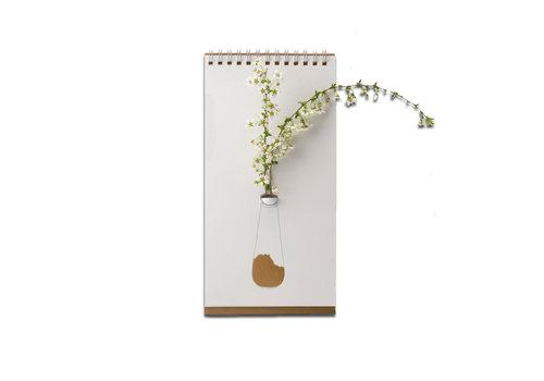 Luf Design Luf Design - flip vase - gold