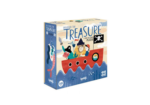 Londji Londji - puzzel - discover the treasure