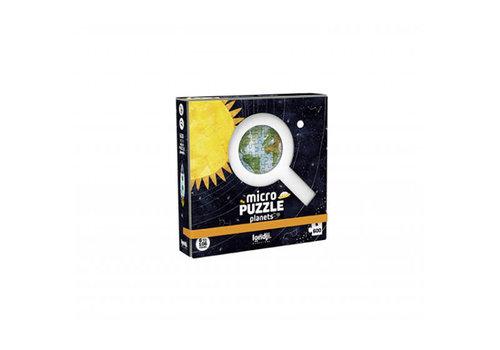 Londji Londji - micropuzzel - discover the planets (600 stukjes)