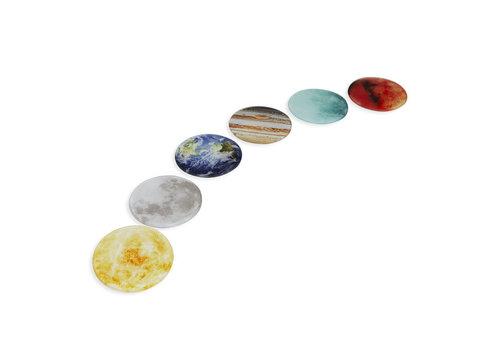 Balvi Balvi - onderzetters - planeten (set van 6)