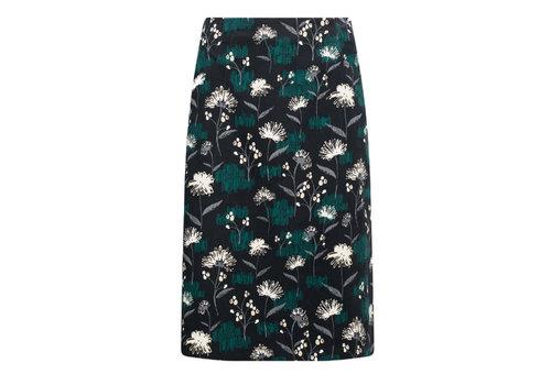 Seasalt Seasalt  - forest view skirt - thrift sketch black