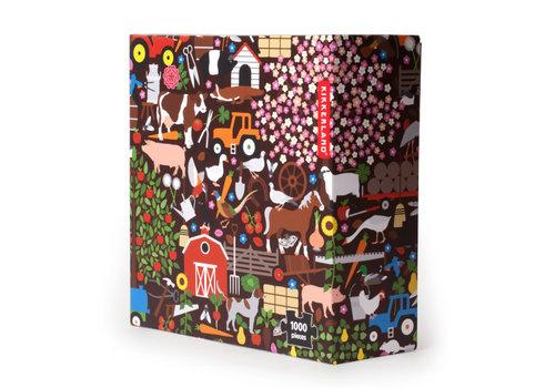 Kikkerland Kikkerland - farm puzzle - 1000 stukjes