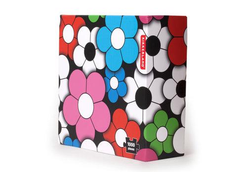 Kikkerland Kikkerland - happy flowers puzzle