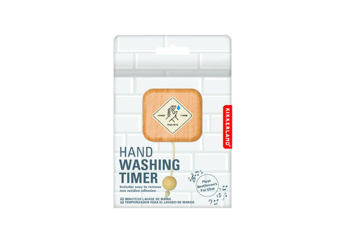 Kikkerland Kikkerland - hand washing timer