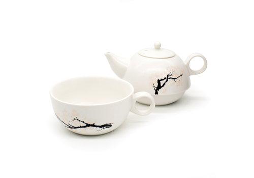 Kikkerland Kikkerland - blossom morph teapot