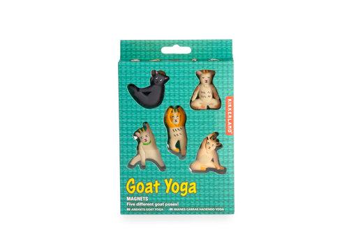 Kikkerland Kikkerland - goat yoga magnets