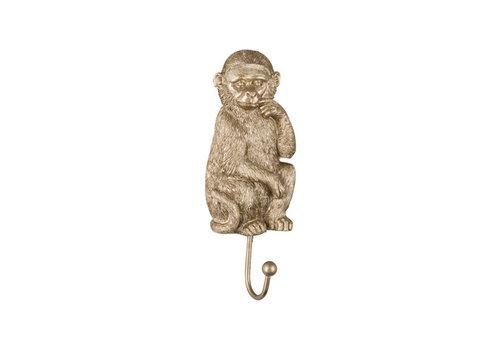 Present time Present time - coat hook gold - monkey