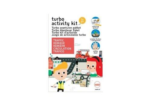 Makii Makii - turbo avonturen pakket - verkeer