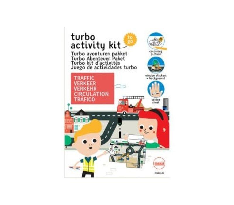 Makii - turbo avonturen pakket - verkeer