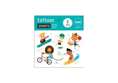 Makii Makii - tattoo - sport