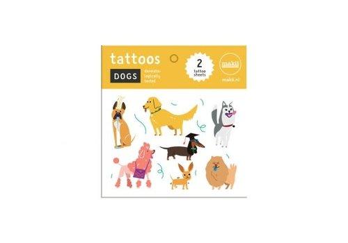 Makii Makii - tattoo - honden
