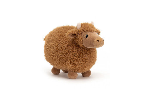 Jellycat Jellycat - knuffel rolbie - cow