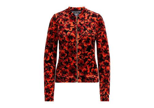 King Louie King Louie - iris jacket ceylon - true red