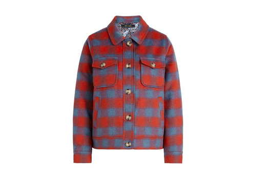 King Louie King Louie - sile shirt jacket seattle - fire red