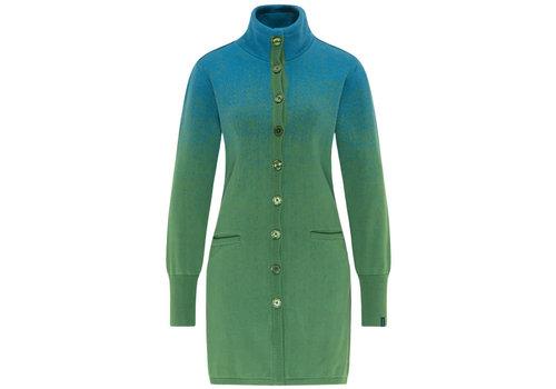 Tranquillo Tranquillo - vest kleurverloop - green