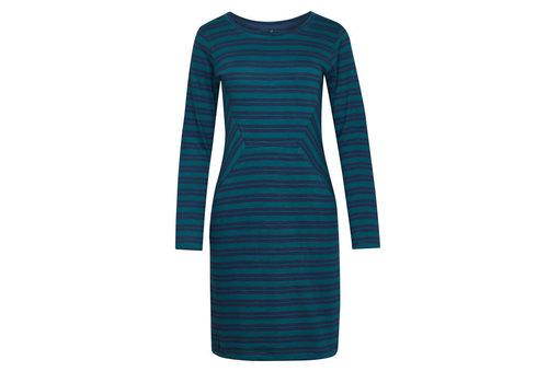 Tranquillo Tranquillo - jurk alba - navy stripes