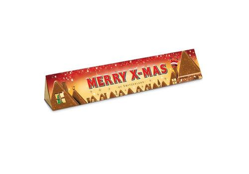 Toblerone Toblerone - chocola 100 gram - merry x-mas